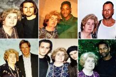 Fotos cedidas por Opnieuw & Co. de Maria Snoeys-Langler con Tom Cruise, Will Smith, Bruce Willis, Harrison Ford, Johnny Depp y Juliette Lewis, y Denzel Washington.