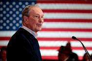 El ex alcalde de Nueva York y candidato a la presidencia de EEUU, Michael Bloomberg.