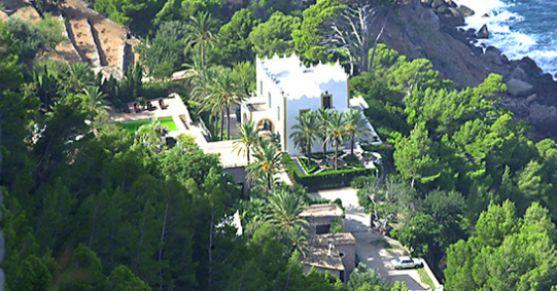 La finca de s'Estaca, propiedad de Michael Douglas, en Valldemossa.