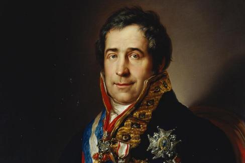 Retrato de Francisco Tadeo Calomarde, hacia 1831. Copia de un original de Vicente López Portaña (Museo del Prado).
