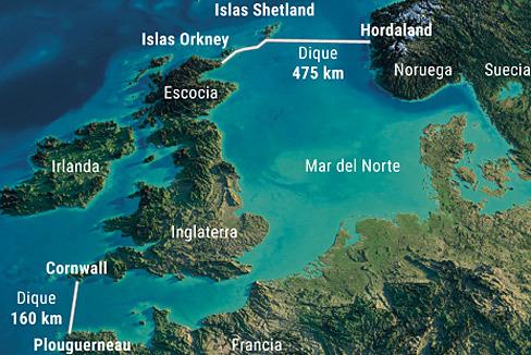 Así es el megaproyecto para cerrar el Mar del Norte y evitar inundaciones
