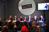 Rueda de prensa de presentación del Tech Spirit Barcelona.
