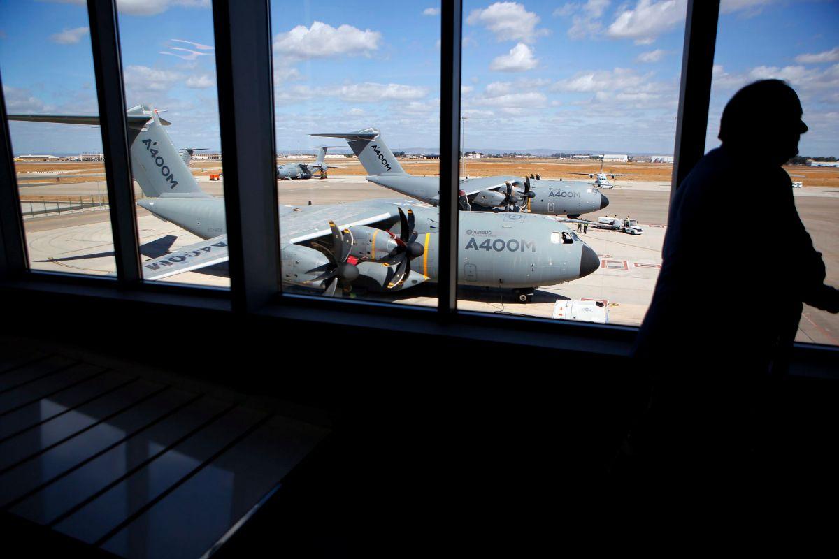 La planta de San Pablo de Airbus Defence&Space en Sevilla.