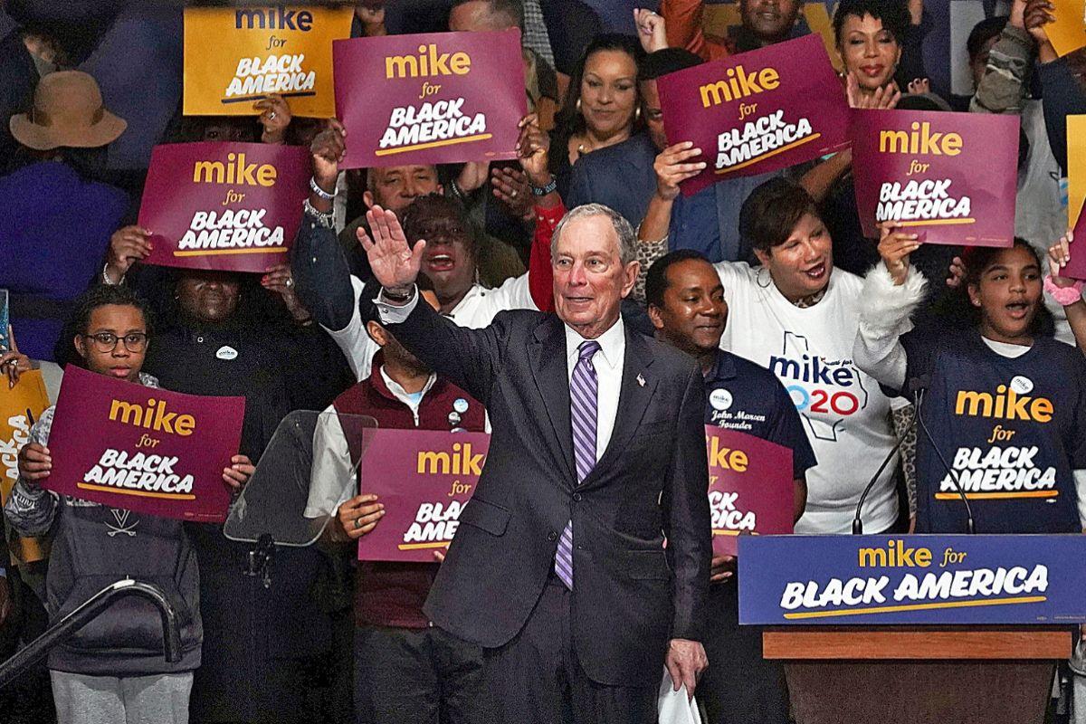 El candidato demócrata a las presidenciales en EEUU, Michael Bloomberg.
