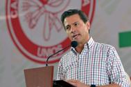 El ex presidente mexicano Enrique Peña Nieto en una imagen de 2018.