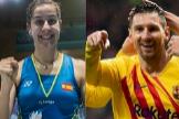 ¿En qué se parecen Leo Messi y Carolina Marín?