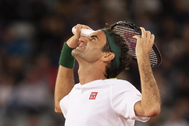 El tenis suizo Roger Federer.