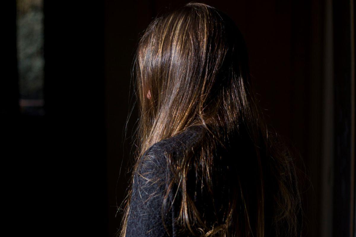 Una joven que sobrevivió a un suicidio.