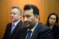 Al Thani, durante el juicio del 'caso BlueBay' hace un año.