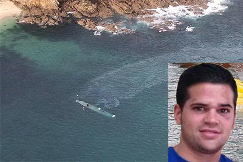 Agustín, el boxeador gallego en el vientre del narcosubmarino 'Che'