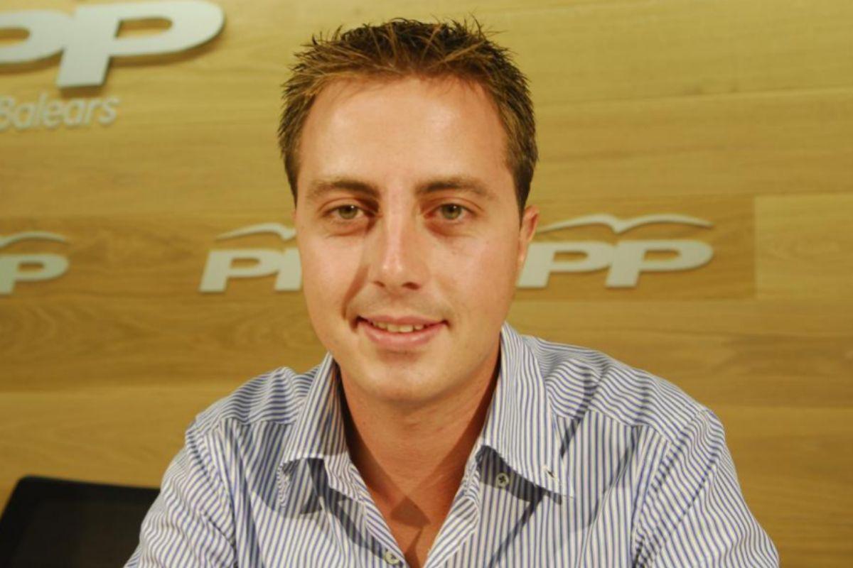 Llorenç Galmés, portavoz del PP en el Consell.