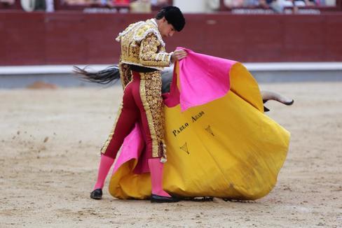 Pablo Aguado en Las Ventas