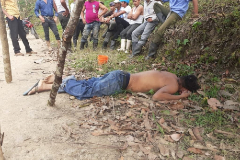 Foto publicada por el partido Ciudadanos por la Libertad de su compañero asesinado.