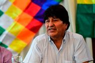 El ex presidente de Bolivia, Evo Morales, en una imagen reciente.