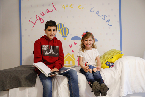 Gari y Adriana, ambos trasplantados de cinco órganos.