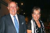 Lucio y su esposa, María del Mar García, en una imagen de archivo.