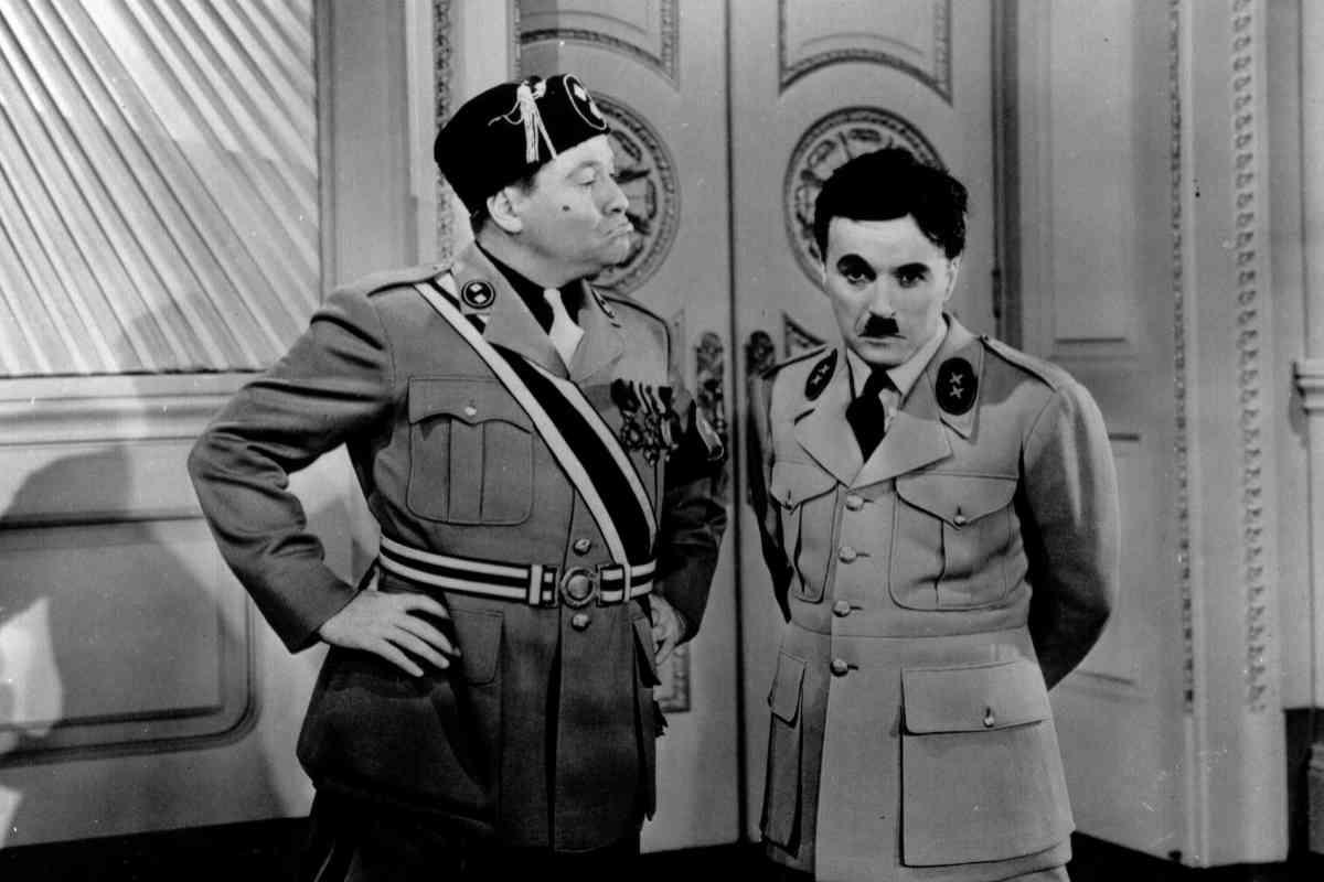 En El gran dictador.