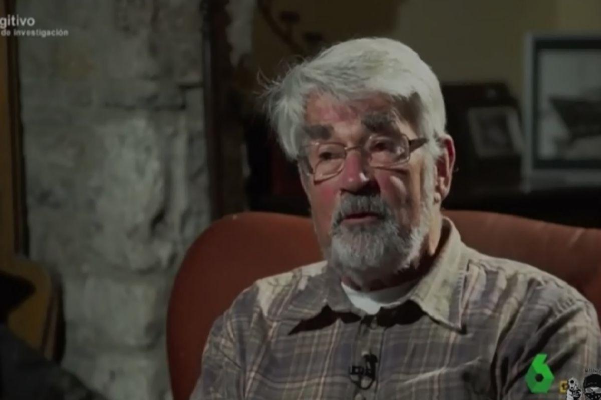 Kenneth Farquharson Stevens durante su entrevista en la Sexta.