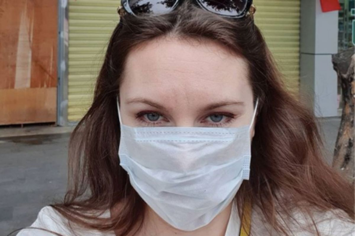 Selfie de Alla Ilyna, de 32 años.
