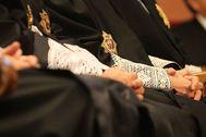 Imagen de jueces en la Audiencia de Barcelona