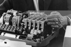 Una de las máquinas de encriptar inventado por Boris.