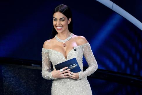 La carrera fulgurante en Italia de la novia de Cristiano Ronaldo como 'celebrity'