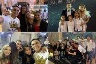 Imágenes de la fiesta de los jugadores del PSG.
