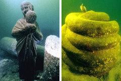 La Alejandría que se esconde bajo el mar