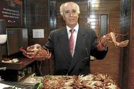 Muere Evaristo García, dueño de Pescaderías Coruñesas, a los 87 años