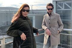 Borja Sémper junto a su pareja Bárbara Goenaga