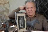Pedro Pacheco,en su casa de Jerez.