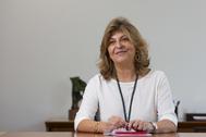 La delegada de Hacienda, Engracia Hidalgo