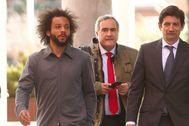 Marcelo, a su llegada a los juzgados de Alcobendas.