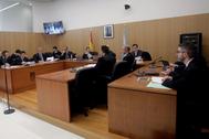 Juzgado de lo mercantil número 1 de Pontevedra en el juicio contra Audasa, que está acusada por la Fiscalía de prácticas abusivas por mantener el cobro íntegro del peaje en la AP-9 durante las obras de ampliación del puente de Rande.