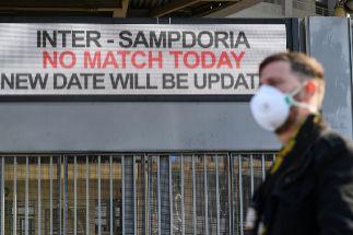 La Federación italiana pide disputar el Inter-Ludogorets a puerta cerrada
