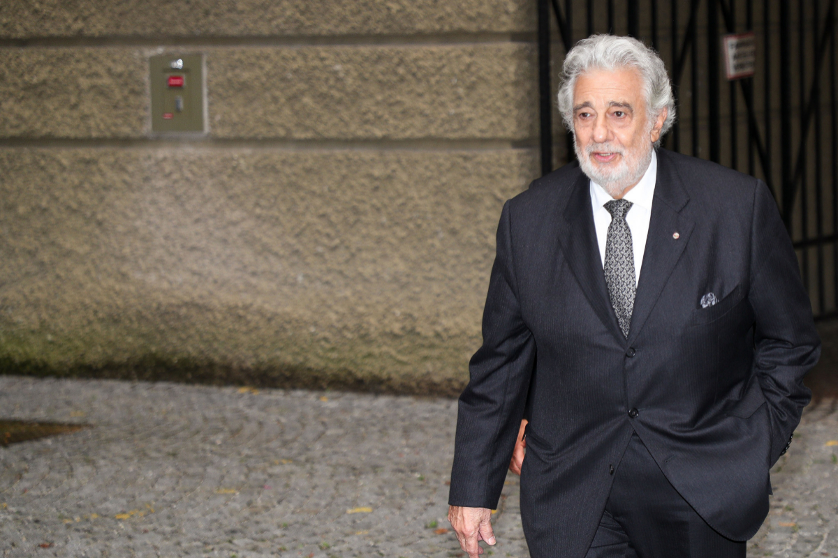 """Plácido Domingo asume """"toda la responsabilidad"""" de las acusaciones de acoso sexual y pide perdón por """"el dolor"""" causado"""