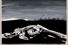 '1984', de Antonioo Saura, una de las obras liquidadas por Prisa.