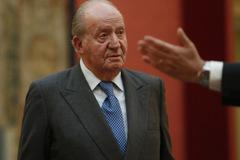 El Rey Juan Carlos, en un acto en 2018 por el 40 aniversario de la Constitución.