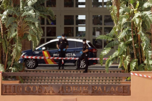 Cuarentena bajo control policial en el hotel en el que se alojaba el italiano con coronavirus