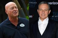 Bob Chapek (i) y Bob Iger, los hombres que se darán el relevo en la cúpula de Disney.