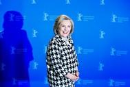 Hillary Clinton en la Berlinale 2020 donde acudió a estrenar el documental sobre su vida y su carrera política