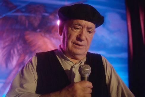 Miguel Ángel Tirado, Marianico el Corto, en la serie 'El último show'.