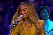 Así fue la despedida de Beyoncé a Kobe Bryant
