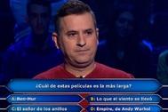 El fallo de Antonio Ruiz en ¿Quién quiere ser millonario? que le costó miles de euros.