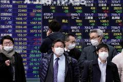 La Bolsa de Tokio amplía sus pérdidas por la propagación del coronavirus.