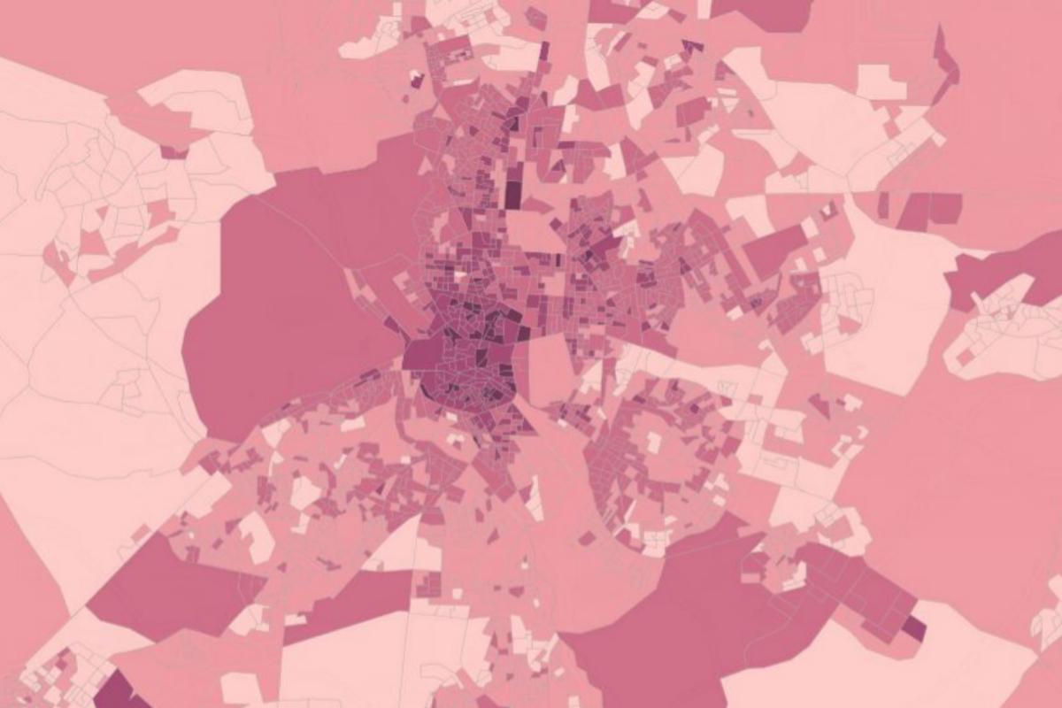 Confinamiento en soledad por el coronavirus: vea cuántos hogares hay con una sola persona calle a calle