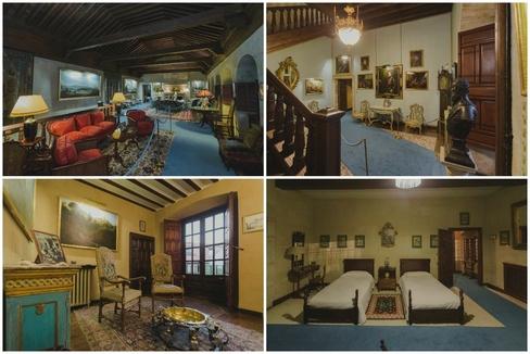 Imágenes del interior de Monterrey, en cuyas habitaciones durmieron Juan Carlos I y Alfonso XIII.