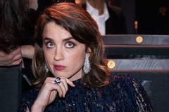 La actriz francesa Adele Haenel durante los César.