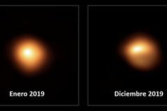 Cambios en la estrella Betelgeuse observados con el VLT.