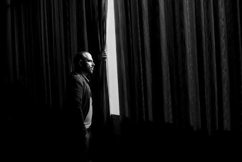 El escritor italiano Roberto Saviano, durante una visita a Madrid.